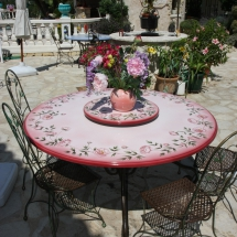 Table la colle sur loup