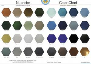 Range Of Colors Available On Handmade Terracotta Tiles Stoneware